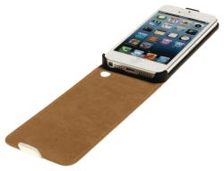 König CSFCIPH5WH Flip case iPhone 5/5S wit