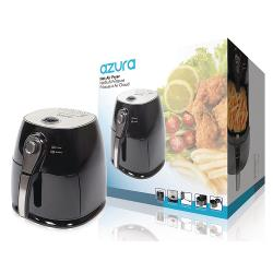 AzurA AZ-AF10 Hot Air Fryer 1400 W 4 l Zwart / Zilver