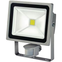 Brennenstuhl 1171250322 LED Floodlight met Sensor 30 W 2100 lm Grijs