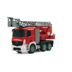 Jamara 404960 R/C Fire Truck Mercedes Antos 4+6 Channel 2.4 GHz Control 1:20 Rood