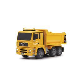 Jamara 405002 R/C Dump Truck MAN 3+4 Channel 2.4 GHz Control 1:20 Geel