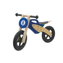Jamara 460232 Push-Bike Wood Bike Bruin / Blauw
