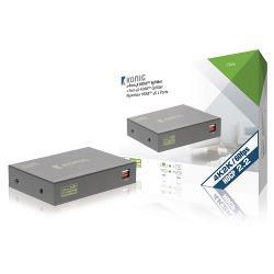 König KNVSP3432 HDMI Splitter HDMI-Ingang - 2x HDMI-Uitgang Donkergrijs