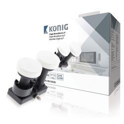 König KN-LNB-SM60N LNB Single Monoblock 6.0° 1.1 dB