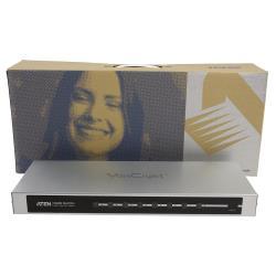 Aten  HDMI Schakelaar 8x HDMI-Ingang + RS232 Female - HDMI-Uitgang Zilver
