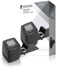 König CSFILMSCAN200 5-megapixel filmscanner met LCD