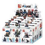 Sluban M38-B0586 Bouwstenen Police Minifigures