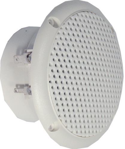 "Visaton 2129 Full-range luidspreker zoutwaterbestendig 8 cm (3.3"") 8 Ohm wit"