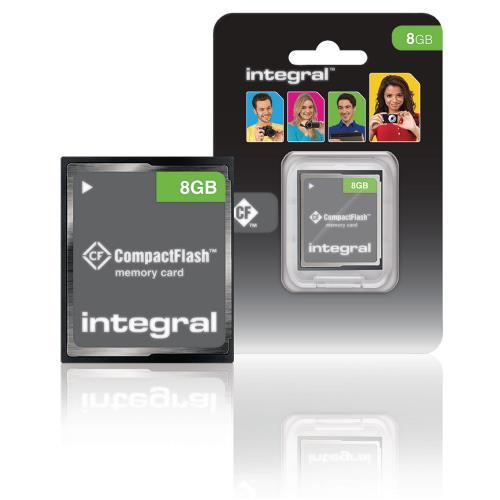 INCF8GV2 CF Compact Flash Geheugenkaart 8 GB