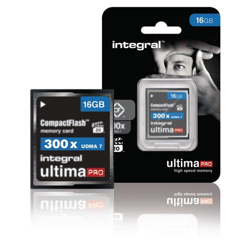 INCF16G300W CF Compact Flash Geheugenkaart 16 GB