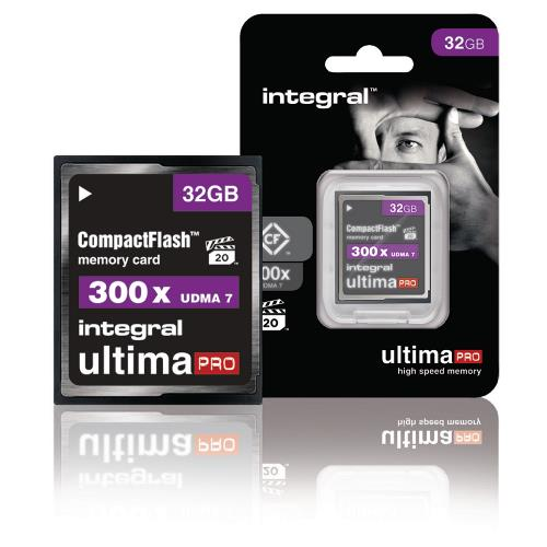 INCF32G300W CF Compact Flash Geheugenkaart 32 GB