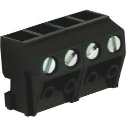 RND Connect RND 205-00212 Pin Pluggable Terminal Block Screw terminal Schroef connectie 4P