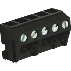 RND Connect RND 205-00213 Pin Pluggable Terminal Block Screw terminal Schroef connectie 5P