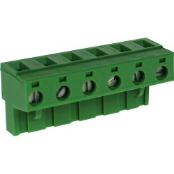RND Connect RND 205-00269 Female Connector Screw terminal Schroef connectie 6P