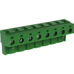 RND Connect RND 205-00271 Female Connector Screw terminal Schroef connectie 8P