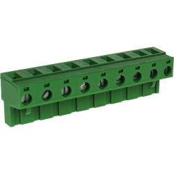 RND Connect RND 205-00272 Female Connector Screw terminal Schroef connectie 9P