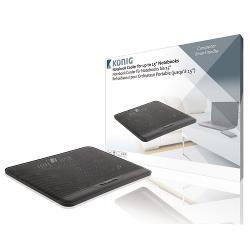 König CSNBC100BL Notebook Stand Plastic / Metal Black
