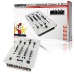 König KN-DJMIXER20 2-kanaals DJ mixer