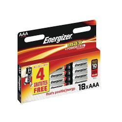 Energizer 53541412700 Alkaline Batterij AAA 1.5 V Max-Blister