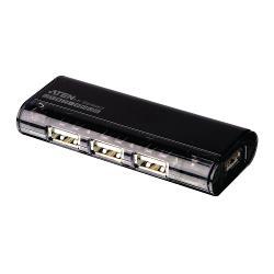 Aten UH284-AT 4-Poorts USB2.0 HUB Zwart
