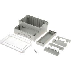 RND Components RND 455-00060 PCB Enclosure 161 x 166 x 93 mm ABS<multisep/>PC