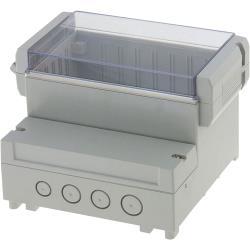 RND Components RND 455-00061 PCB Enclosure 161 x 166 x 121 mm ABS<multisep/>PC