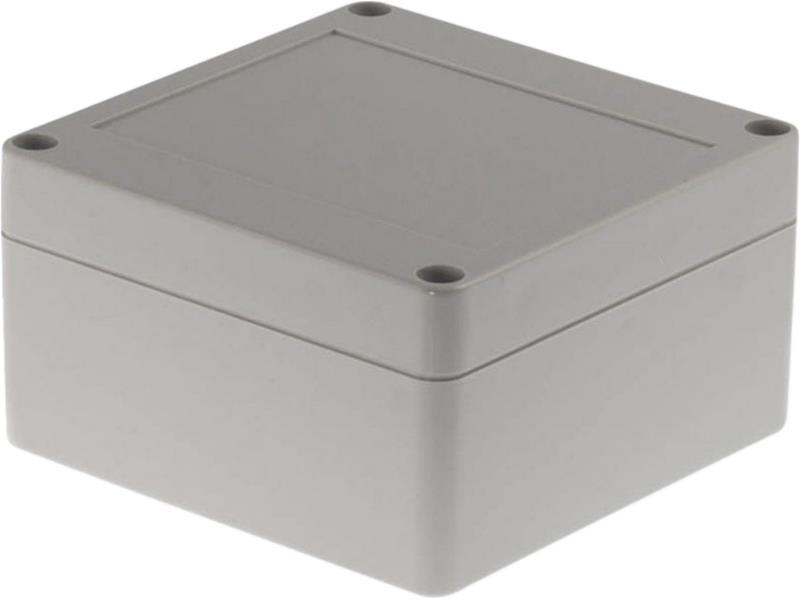 RND Components RND 455-00122 Kunststof behuizing 100 x 100 x 55 mm Lichtgrijs PC IP65