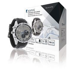 König SAS-DVRWW20 Horloge met Geïntegreerde Camera