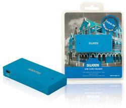 Sweex NPCR1080-07 Cardreader USB Curaçao blauw