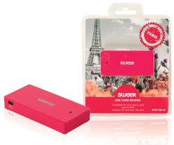 Sweex NPCR1080-09 Cardreader USB Paris fuchsia