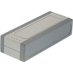 RND Components RND 455-00118 Kunststof behuizing 105 x 41 x 25.2 mm Grijs / Lichtgrijs ABS