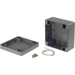 RND Components RND 455-00144 Kunststof behuizing 100 x 100 x 55 mm Donkergrijs ABS IP65