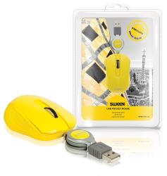 Sweex NPMI1080-05 USB-pocketmuis Barcelona