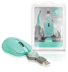 Sweex NPMI1080-06 USB-pocketmuis New York
