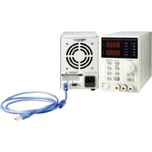 RND Lab RND 320-KA3005P Laboratoriumvoeding 1 Ch. 0...30 VDC 5 A, Programmeerbaar