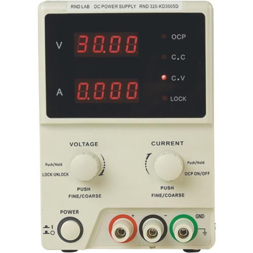 RND Lab RND 320-KD3005D Laboratoriumvoeding 1 Ch. 0...30 VDC 5 A