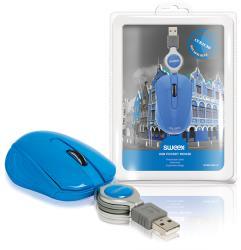 Sweex NPMI1080-07 USB-pocketmuis Curaçao