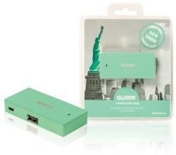 Sweex NPUS0480-06 4-poorts USB-hub New York mint