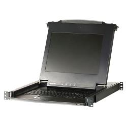 "Aten CL1016M-ATA-XG 16-Poorts KVM Schakelaar LCD 17"" Console Zwart"