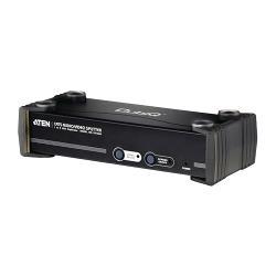 Aten VS1508T-AT-G 8-Poorts Cat5 VGA-Splitter Zwart