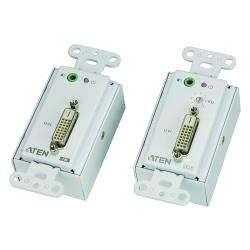 VE606-AT-G DVI / Audio Cat5 Verlenger 60 m