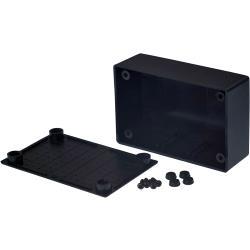RND Components RND 455-00086 Kunststof behuizing 54 x 83 x 30 mm Zwart ABS