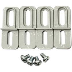 RND Components RND 455-00481 Mounting Bracket Aluminium Alloy Grijs