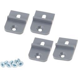 RND Components RND 455-00485 Mounting Bracket ABS Lichtgrijs