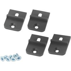 RND Components RND 455-00486 Mounting Bracket ABS Donkergrijs
