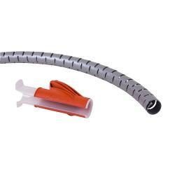 Dataflex 33782 Kabelslangen 25 mm 3 m Zwart