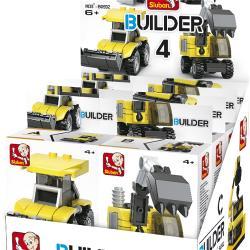 Sluban 101380592 Bouwstenen Builder