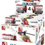 Sluban 101380593 Bouwstenen Builder