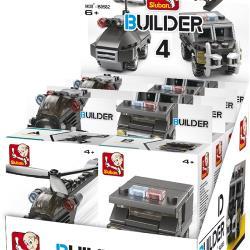 Sluban 101380595 Bouwstenen Builder