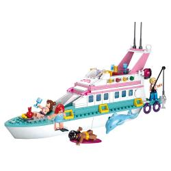 Sluban M38-B0609 Bouwstenen Girl's Dream